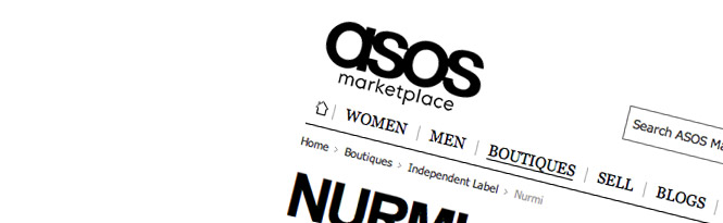 Nurmi now at ASOS Marketplace