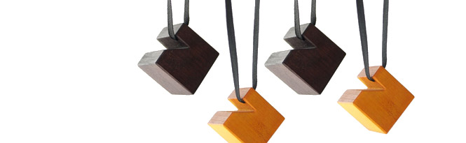The design process: Cube Necklaces
