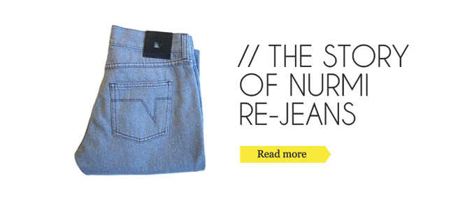 The Story of Nurmi RE-JEANS
