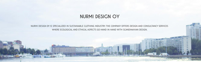 New website for Nurmi Design Oy
