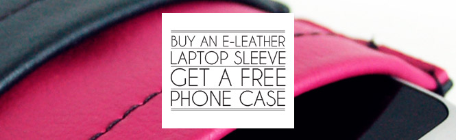 Buy a laptop sleeve, get a free phone case