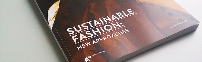 "Nurmi in ""Sustainable Fashion: New Approaches"""