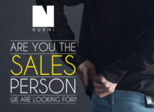 Are you the SALES PERSON we're looking for?