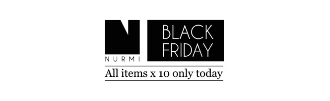Black Friday: All items x 10 only today