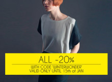 All orders -20%